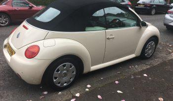 2004 Volkswagen Beetle Cabrio full